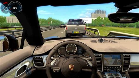 Porsche Panamera City Car Driving Simulator 315km/h On The