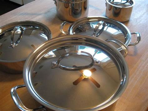 kirkland costco tri ply clad  piece cookware set cookware