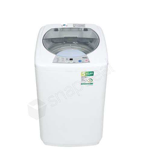 haier washing machine haier 5 8 kg hwm 58 020 fully automatic top load washing machine white price in india buy