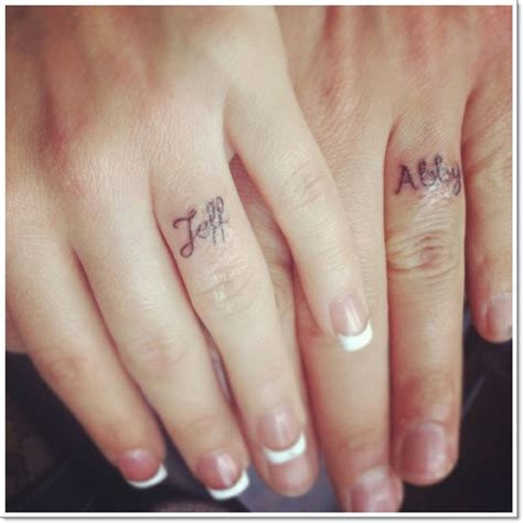 40 of the best wedding ring tattoo designs