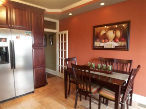 colors for living room and kitchen orange and brown dining room www imgkid the image 9443