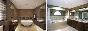 eclairage dans douche simple carrelage sol salle de bain With carrelage adhesif salle de bain avec robinet lumiere led