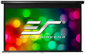 Elite Screens Outdoor Pull Down Projector Screen At Just