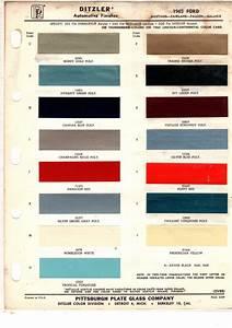 1964 Ford Mustang Car Paint Colors - UreChem Urekem