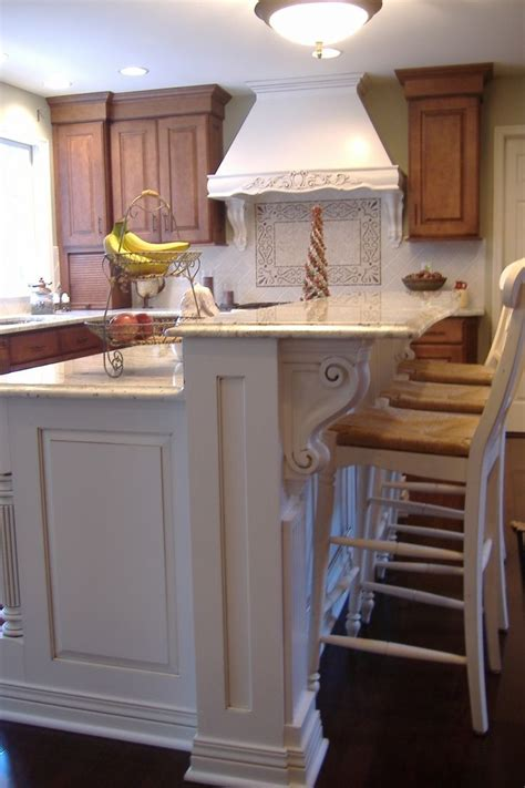 corbels for kitchen island splendid houzz kitchen islands with corbels and vintage 5808
