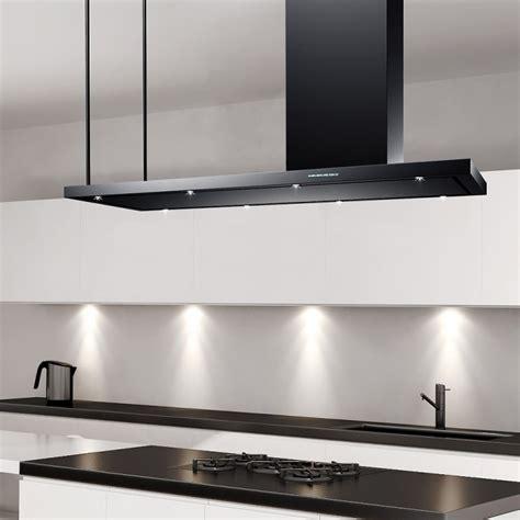 kitchen island extractor hoods 150cm professional designer island arezzo black 5064