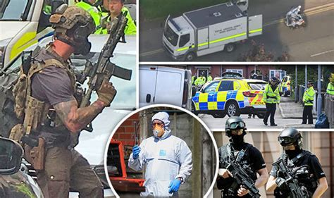 Hunt for SECOND bomb: Cops raid Moss Side amid fears of ...