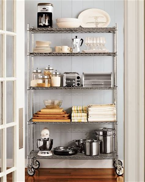 metal kitchen racks metal kitchen furniture fashionkitchen pantry shelving metro by