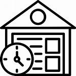 Warehouse Icon Bonded Consolidation Icons Logistics Warehousing