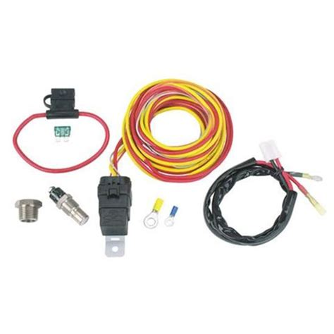 Spal Cooling Fan Relay Kit Harness Off