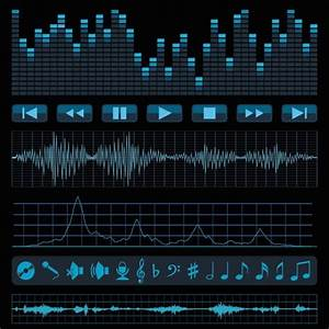 Audio wave vector free vector download (3,750 Free vector ...