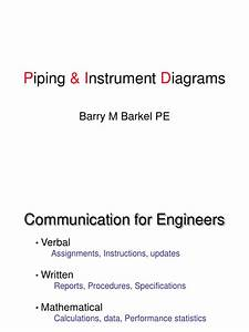 Piping And Instrumentation Diagram Lecture
