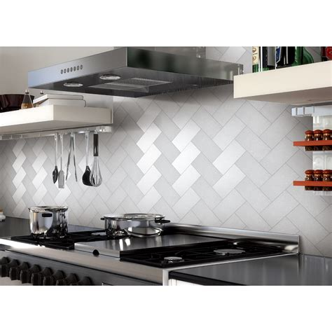 stick on backsplash tiles for kitchen 32 pcs peel and stick kitchen backsplash adhesive metal