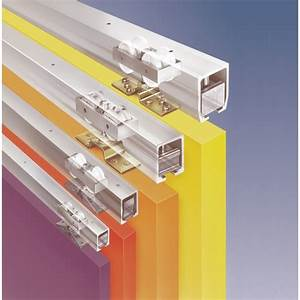 Rail Suspension Porte Coulissante : rail haut junior 160 pour porte coulissante bricozor ~ Premium-room.com Idées de Décoration