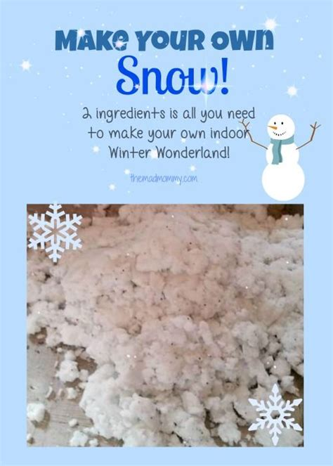 diy make your own snow activities and crafts 808 | c1b628e05020cb9a84327ee016e25b6d preschool christmas activities snow activities