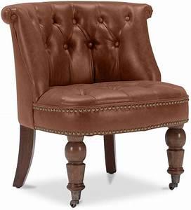 Fauteuil Crapaud Cuir : fauteuil crapaud simili cuir marron clair ~ Teatrodelosmanantiales.com Idées de Décoration