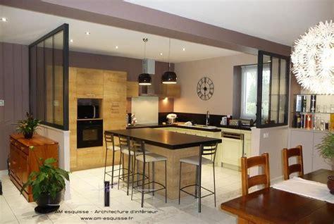 verri鑽e cuisine emejing maison cuisine ouverte verriere pictures awesome interior home satellite delight us