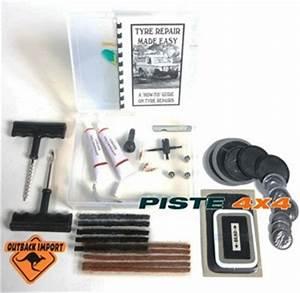 Kit Réparation Pneu Tubeless Professionnel : kit reparation tubeless pour pneu kit de r paration pneus pi ces 4x4 ~ Melissatoandfro.com Idées de Décoration