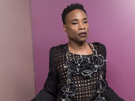 Billy Porter His Fabulous Diana Ross Look The Pose