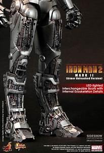 Hot Toys Iron Man Mark Ii Collectible Figure Armor