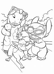 Free Printable Lilo and Stitch Coloring Pages For Kids