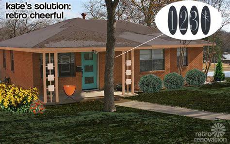 Modern Porch Design by Retro Design Dilemma Paint Colors For Laurie S 1966