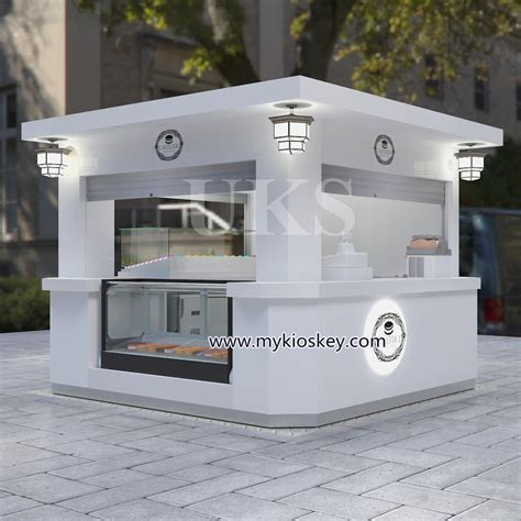 ft elegant macaron outdoor kiosk design  hot sale