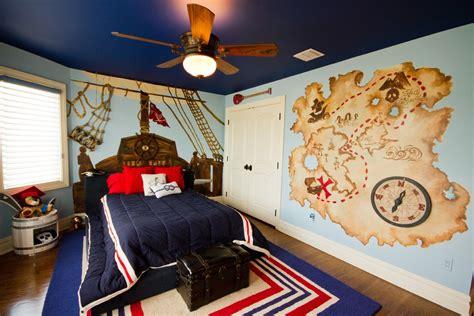 Pirate Ship Interior Design For 6 Year Boy by 男孩儿童房装修效果图 土巴兔装修效果图