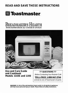 Toastmaster 1143s User Manual