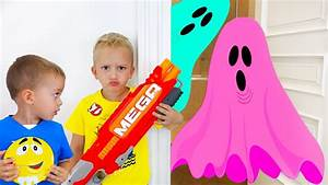 BAD KIDS & BAD GHOST Learn Colors with Johny Johny Yes ...
