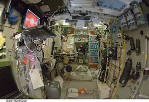 International Space Station Imagery; Interior view of the ...