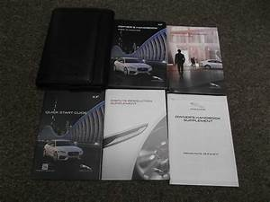 2017 Jaguar Xf Owner U0026 39 S Operator Manual User Guide Set