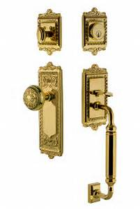 Windsor Plate C Grip Entry Set With Windsor Knob Lifetime