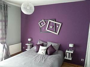 revgercom couleur aubergine chambre idee inspirante With chambre aubergine et gris