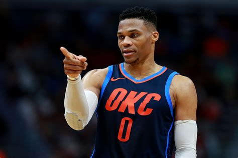 As he made his way into the tunnel, a fan dumped popcorn. Russell Westbrook leads the NBA in points off turnovers