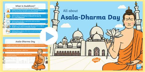 * New * Ks1 All About Asaladharma Day Powerpoint  Dharma Day