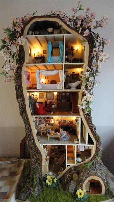 diy treehouse dollhouse decoist