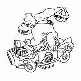 Kong Donkey Mario Coloring King Kleurplaten Kleurplaat Printable Colorare Zijn Colouring Leuk Arcade Kart Ausmalbild Ausmalbilder Leukvoorkids Malvorlagen Gorilla Machine sketch template