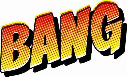 Bang Sound Effect Comic Clipart Svg Comics