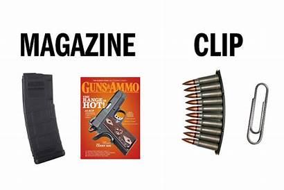 Gun Guns Ammo Clip Magazine Firearm Weapon
