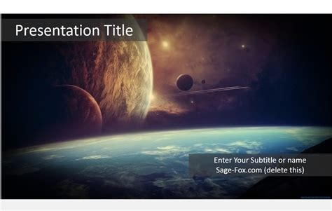 templates space powerpoint free fantasy space powerpoint template 5986 sagefox