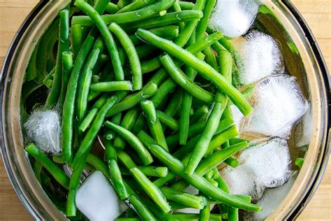 blanching green beans poached salmon with green bean radish salad recipe
