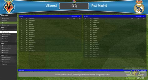 Villarreal vs Real Madrid match prediction (21st November ...