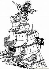 Coloring Pirate Ship Pages Pirates Printable Ships Miscellaneous Theme Sheets Drawing Line Colouring Sheet Books Sunken Clipartmag Luau Preschool Emoji sketch template