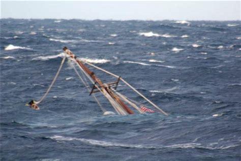 Lobster Boat In Rough Seas by Maine Built Ship Raw Faith Sinks Off Cape Cod Coast