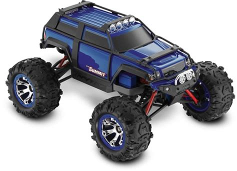 Traxxas 1/16 Summit Brushed 4wd Rtr Rc Car