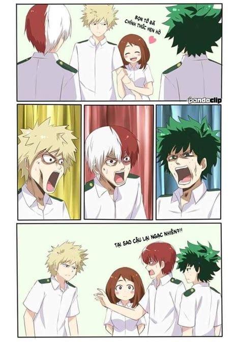 bnha tong hop doujinshi strip anime hai huoc va