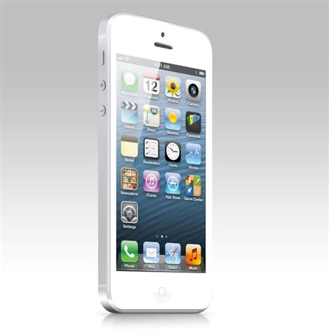white iphone white iphone 5 design free psd and html