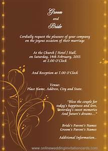 hindu wedding invitation templates sunshinebizsolutionscom With hindu wedding invitations trinidad