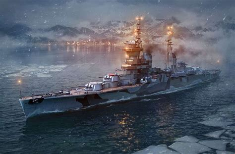 415 Best Images About Warships Art On Pinterest